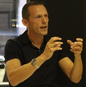 Executive Coach Axel Rittershaus as Motivational Speaker