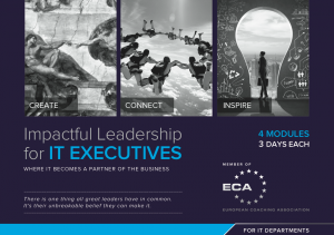 ImpactfulLeadership for IT Executives