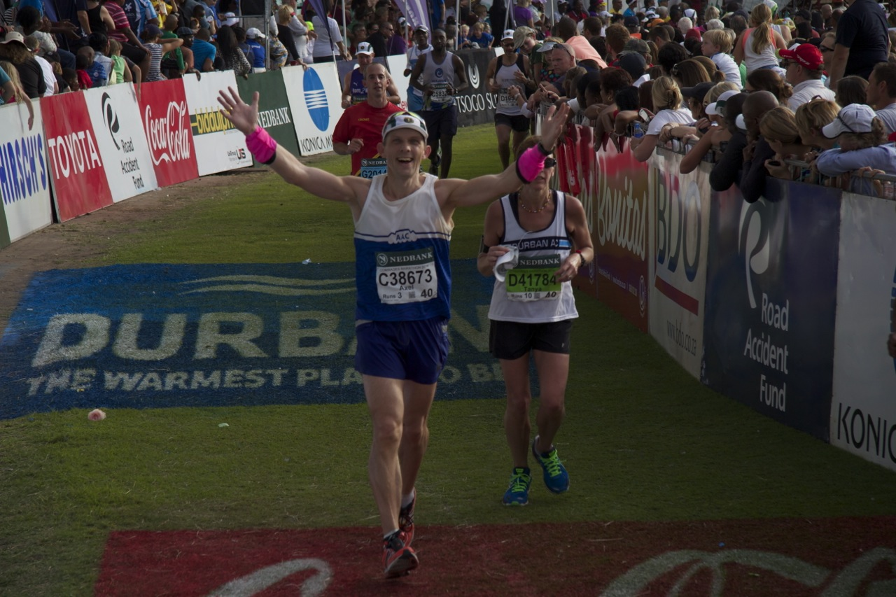 Axel Rittershaus, The Executive Coach, completes his 4th Comrades Ultra Marathon